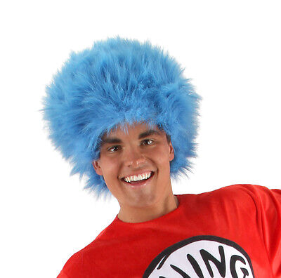 Dr. Seuss Thing 1 and Thing 2 Blue Wig by - Things 1 And 2 Costumes
