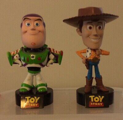 Talking Toy Story Woody & Buzz Disney Pixar Funko 2010 Bobbleheads