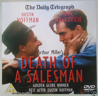 DEATH OF A SALESMAN - ARTHUR MILLER /DUSTIN HOFFMAN DAILY MAIL PROMO DVD