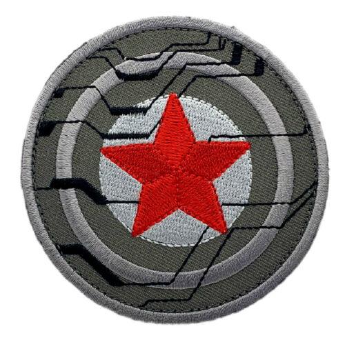 "Captain America Winter Soldier Bucky Patch [""Velcro Brand"" Fastener -WS5]"