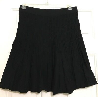 Women's CAbi size M black A-line stretchy skirt for sale  Clinton
