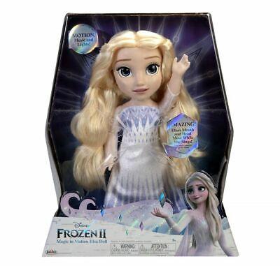 "Disney Frozen 2 Magic In Motion Queen Elsa Feature Doll sings ""Show Yourself"" fr"
