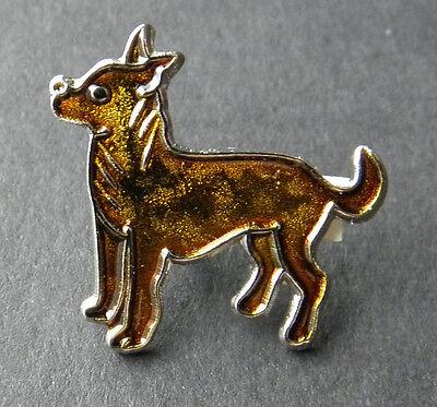 CHIHUAHUA DOG ANIMAL LAPEL PIN BADGE 7/8 INCH