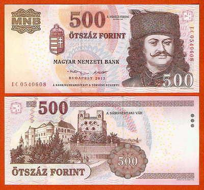 P196d    Ungarn / Hungary   500 Forint   2013  UNC
