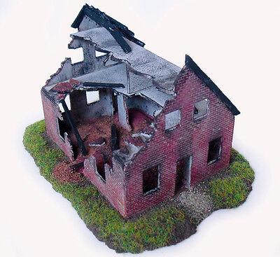 RESIN – Bausatz Ruine, Abrisshaus, WW2 Haus für 1:87 (52)