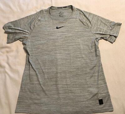 Mens Nike Dri Fit Shirt NikePro Tee Shirt Pullover Size XXL Short Sleeve EUC