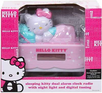 Hello Kitty Alarm Clock With Radio