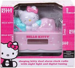Hello Kitty Alarm Clock With Radio Damaged Box Make an Offer