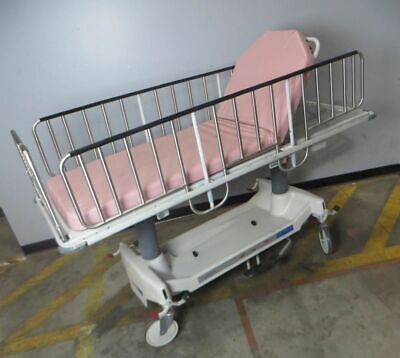 Steris Hausted 462empst Youth Stretcher Wheeled Medical Gurney Hospital Bed