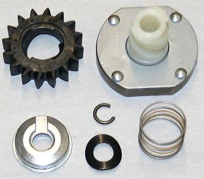 Starter drive kit replaces Briggs & Stratton Nos. 497606 & 696541.