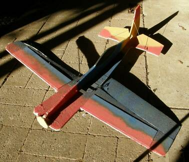 Epp foam RC plane airframe with servos (4 channel)