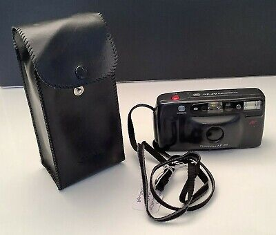 Vintage Minolta AF35 Point and Shoot Film Camera w/ Original Canon Soft Case