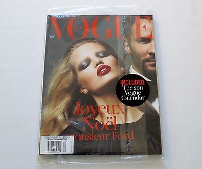 Daphne Groeneveld & Tom Ford Vogue Paris 2010/11 + Caledar Sealed