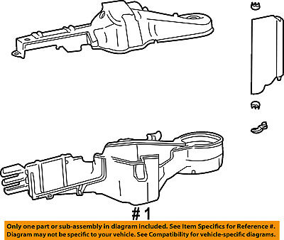 CHRYSLER OEM-A/C AC Evaporator Core Case 5166535AA