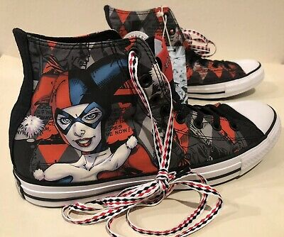 Harley Quinn Converse DC Comics Chuck Taylor All Star 152599C shoes - NEW IN BOX