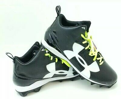 Under Armour Crusher Football Cleats Size 15 Black 1286599 001 Under Armour Crusher