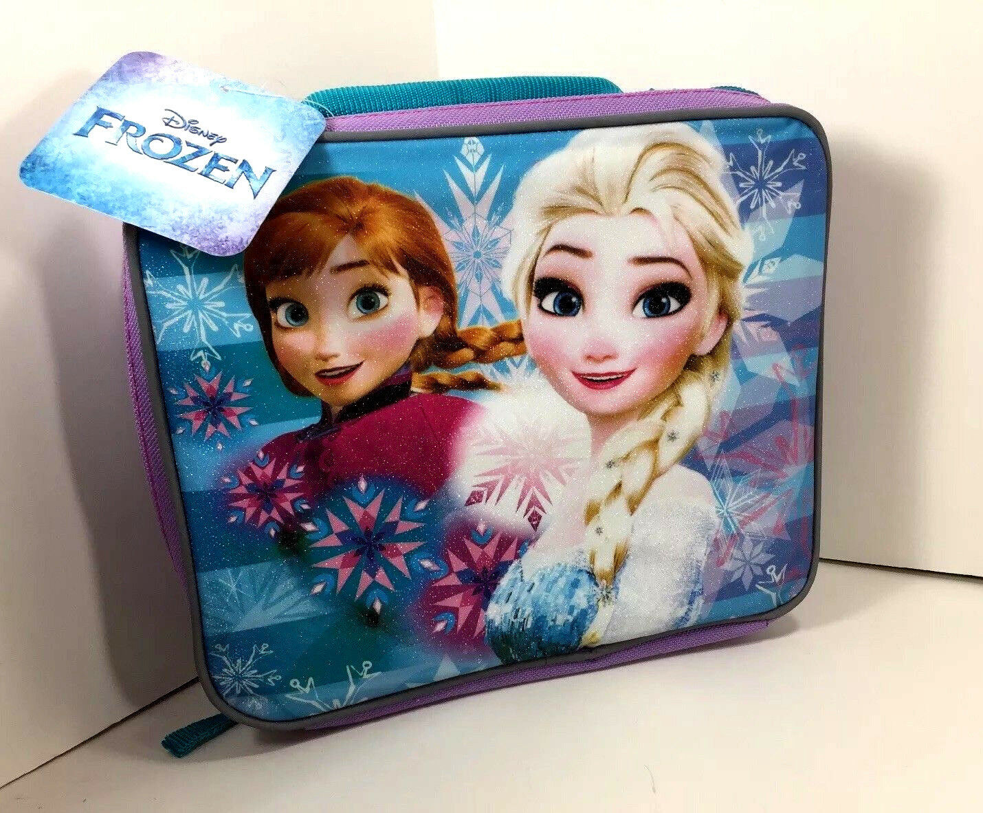 NEW Disney Frozen LUNCH BAG Box ELSA ANNA Mini Toddler Carry