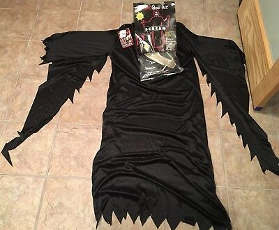 Fun World Scream Bleeding Ghost Face And Robe Fits Up To 200 Lbs Adult Costume