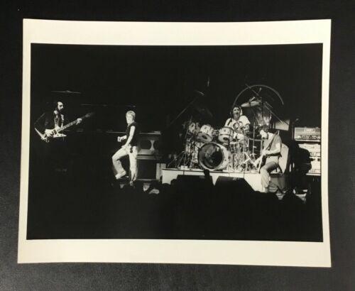 Original Rare The Who in Concert Photo 8x10 VTG Rock Band Pete Townshend Press