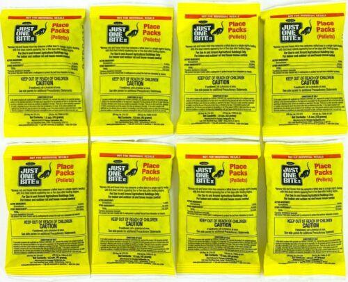 El Mejor Cebo Carnada Veneno mata Ratas para Ratones 8 Paquetes de 1.5 oz packs