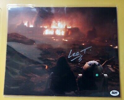 LEE TOWERSEY Hand Signed 10 X 8 Photo Autograph Star Wars R2-D2 The Bam Box