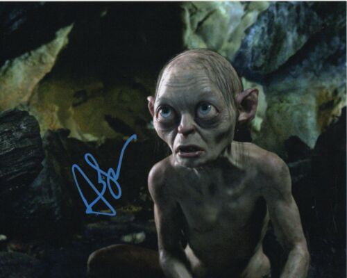 Andy Serkis Lord of the Rings Autographed Signed 8x10 Photo COA 2019-4