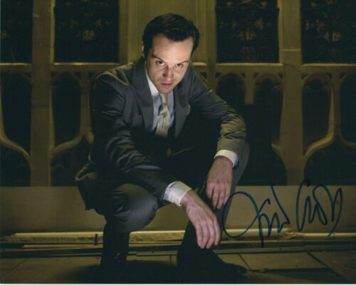 Andrew Scott Sherlock Autographed Signed 8x10 Photo COA