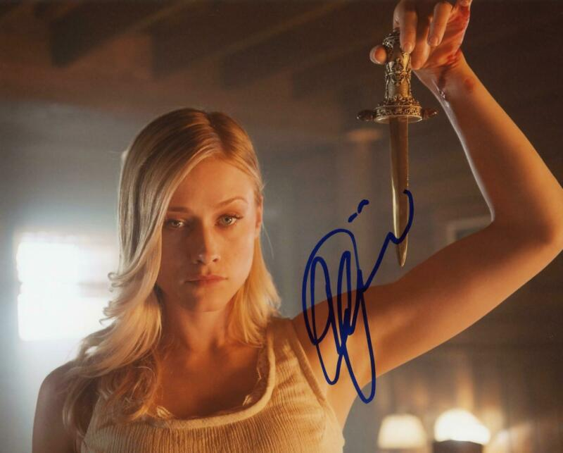 """Olivia Taylor Dudley """"The Magicians"""" AUTOGRAPH Signed 8x10 Photo B"""