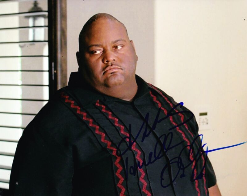 LAVELL CRAWFORD SIGNED 8X10 PHOTO BREAKING BAD HUELL AUTOGRAPH INSCRIPTION COA B