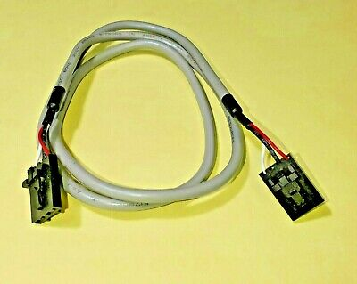 CD Audio cable, CD Rom/DVD audio cable MPC2 gray color, black connectors 2 ft.