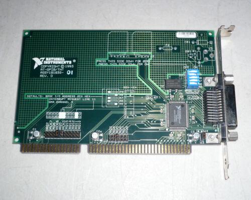 Vintage 1993 NI National Instruments 181830-01 AT-GPIB/TNT IEEE-488.2 ISA Module