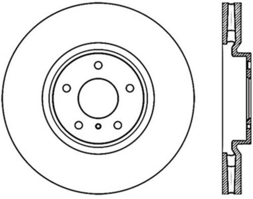 Disc Brake Rotor C Tek Standard Centric 121 42095 Fits 08 13