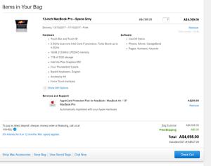 Late 2016 Macbook Pro CTO HIGHEST SPEC i7,16gb,1tb LIKE NEW