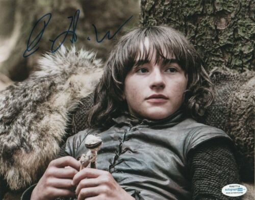 Isaac Hempstead Wright Game of Thrones Autographed Signed 8x10 Photo ACOA MA7