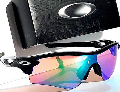 NEW* Oakley Radarlock BLACK w PRIZM GOLF Lens Sunglass oo9181-42
