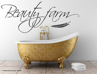 leber: BEAUTY FARM - Badezimmer; Kosmetik (Farm Tattoos)