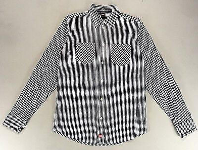 Dickies Brenham Long Sleeve Gingham Check Shirt New Size S