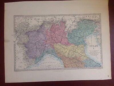 Карты мира 1874 EDWARD STANFORD STEEL