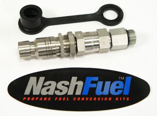 """NGV1 X 1/2"""" MALE O-RING 3600 PSI BULKHEAD CNG QUICK CONNECT FAST FILL NOZZLE OPW"""