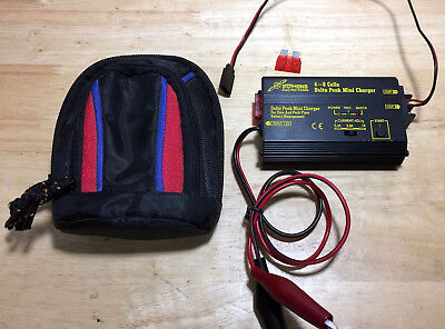 Delta Peak Mini RC Field RX Charger with bag!