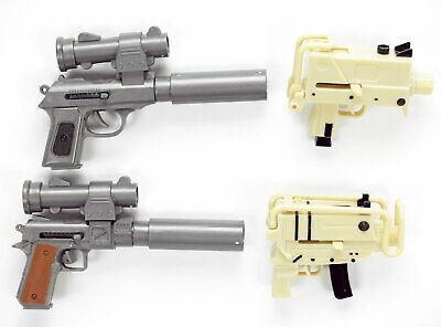 Mini Spring Airsoft Plastic BB Pistol Machine Gun 6MM Pellet 1 Random Toy (Airsoft Pellet Gun)