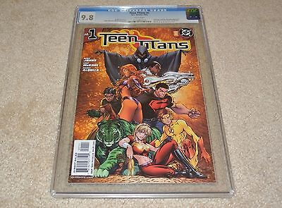 CGC 9.8 TEEN TITANS #1 [FIRST PRINTING] MICHAEL TURNER VARIANT COVER 2003