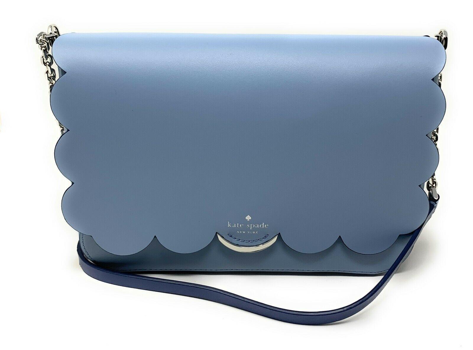 Kate Spade Magnolia Street Izabella Blue Dawn Crossbody Bag