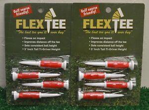 2 Packs Flex Tees 3