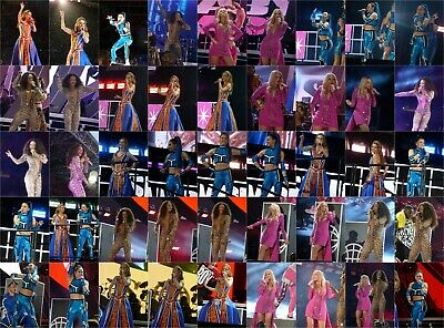 Spice Girls 6000 Candid Photos 27/05/2019 Spice World Tour & Music All Costumes