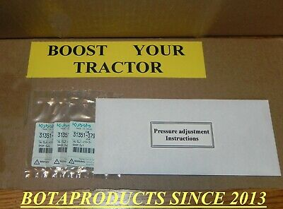Kubota Hydraulic Pressure Boost Adjustment Shims For All Bxbl Tractors