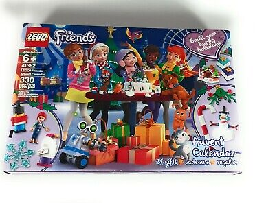 LEGO 41382 Friends Advent Calendar 330pcs New Box Damage Free Shipping