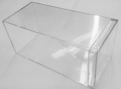 Heavy Duty Clear Acrylic Display Case Box For 1:24 Scale Diecast Cars