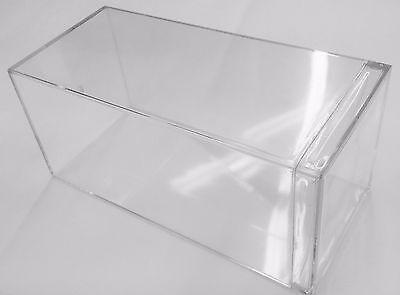 Heavy Duty Clear Acrylic Display Case Box For 1:24 Scale Diecast Car