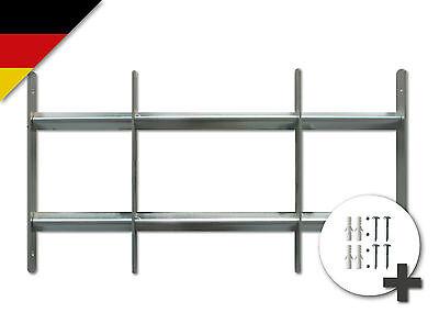Fenstergitter Venlo ausziehbar Sicherheitsgitter verzinkt 30 x 70-100cm